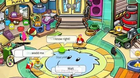Being the Most Meanest Mumu On Club Penguin