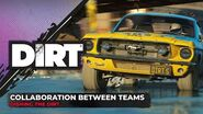 Collaboration Between Teams Dishing the DIRT Codemasters