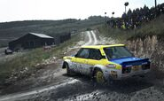 DirtRally 131Abarth Wales 1