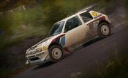 DirtRally 205T16 Finland 1