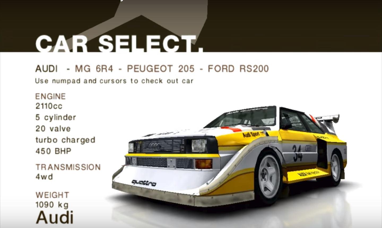 Audi Sport Quattro S1 E2 Colin Mcrae Rally And Dirt Wiki Fandom