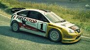 Dirt3 Focus Rallycross
