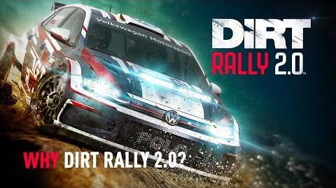 Why DiRT Rally 2.0? DiRT Rally 2