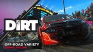 Off-Road Variety Dishing the DIRT Codemasters