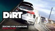 Racing for Everyone Dishing the DIRT Codemasters