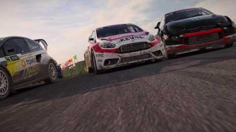 DiRT 4 World Rallycross Gameplay Trailer Be Fearless UK