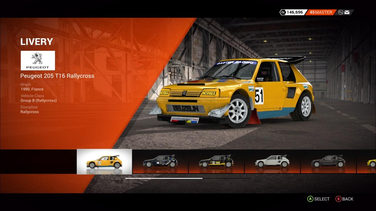 Peugeot 205 T16 Rallycross