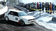 Dirt Rally Lancia Delta HF