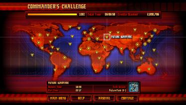 Commander's Challenge clear