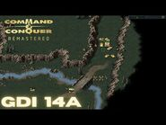 Command & Conquer Remastered - GDI Mission 14A - FISH IN A BARREL (Hard)
