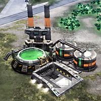 GDI Tiberium refinery (Tiberium Wars)