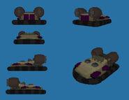 Amphibious transport - Yuri Voxel Render