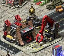 Soviet construction yard (Red Alert 2)