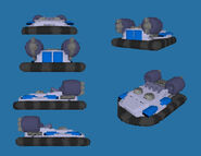 Amphibious transport - Allied Voxel Render