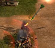 Атака вблизи SCUD L