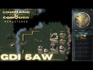 Command & Conquer Remastered - GDI Mission 5AW - RESTORING POWER GERMANY WEST (Hard)