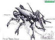 RA2 Terror Drone Concept Art