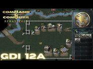 Command & Conquer Remastered - GDI Mission 12A - SAVING DOCTOR MOBIUS ALBANIA (Hard)
