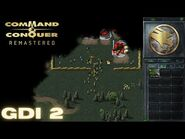Command & Conquer Remastered - GDI Mission 2 - KNOCK OUT THAT REFINERY (Hard)