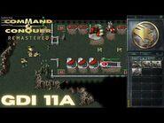 Command & Conquer Remastered - GDI Mission 11A - CODE NAME DELPHI (Hard)