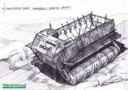 RA2 Corkscrew Transport Concept Art