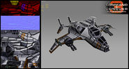 CNCKW Hammerhead - Ceramic Armour render
