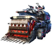 Red Alert Magnetic Energy Mining Vehicle