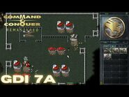Command & Conquer Remastered - GDI Mission 7A - DESTROY THE AIRSTRIP (Hard)