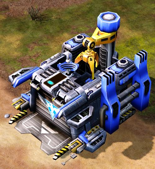 Allied construction yard (Red Alert 3)
