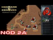 Command & Conquer Remastered - NOD Mission 2A - LIBERATION OF EGYPT NORTH (Hard)