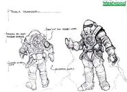 RA2 Tesla Trooper Early Concept art