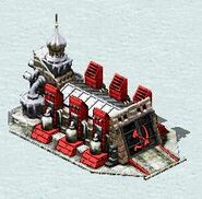 Soviet war factory in Snow Theater