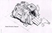 CNCFS Mobile War Factory Deployment concept Art