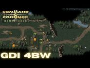Command & Conquer Remastered - GDI Mission 4BW - REINFORCE BIALYSTOK (Hard)