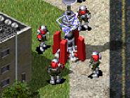 RA2 Tesla Trooper In-game