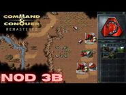 Command & Conquer Remastered - NOD Mission 3B - FRIENDS OF THE BROTHERHOOD SUDAN WEST (Hard)