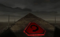 The Nod Pyramid, Kane's North African Command Headquarters in Egypt.