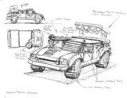 CNCTD Tac Hummer Concept Art