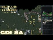 Command & Conquer Remastered - GDI Mission 8A - U.N