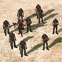 Confessor in a Kane's Wrath Militant squad