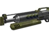 Scorpion railgun