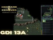 Command & Conquer Remastered - GDI Mission 13A - ION CANNON STRIKE YUGOSLAVIA WEST (Hard)