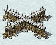 Yuri Fortress Walls in Snow Theater