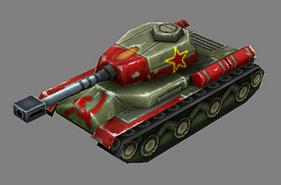 Heavy tank (Red Alert iPhone)