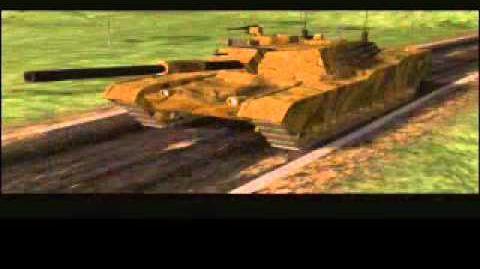 C&C Tiberian Dawn - Tank Being Blown Up