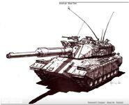 Crusader Tank concept art 2