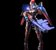 Red Alert OL Magnetic Flying Soldier