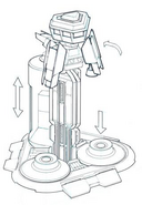 CNCTW Early Tiberium Silo Concept Art 2