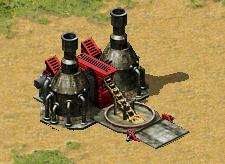 Soviet ore refinery (Red Alert 2)