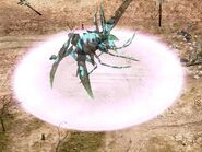 KW The Hexapod using its unique teleport ability
